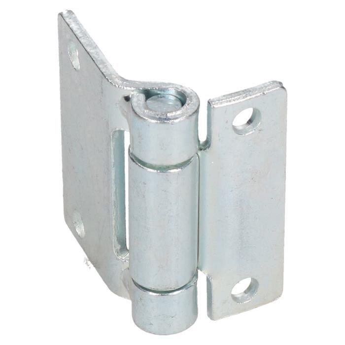 Charnière en acier pressé Heavy Duty 65x73mm Casier de trappe de porte de qualité industrielle