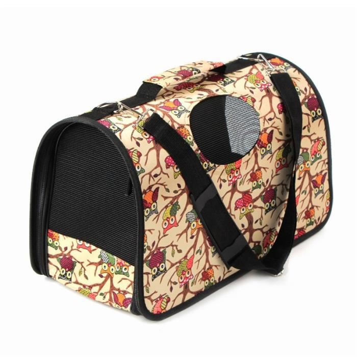 Sac de transport,Porte animal Portable chat chien voyage Cage sac en plein air sac à main sac à bandoulière - Type H-36X18X24CM