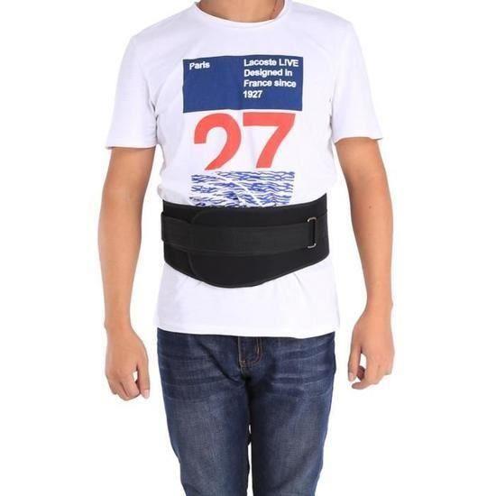 Ceinture d'haltérophilie Taille de remise en forme de ceinture Dos Soutien Ceinture d'exercice de ceinture Powerlifting L -RAC