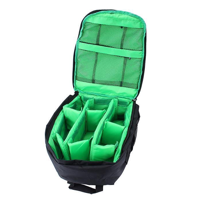 Sac Photo - Sac étanche antichoc pour objectif de caméra DSLR sac à dos pour appareils photo reflex numériques HB039 -GRO -POU
