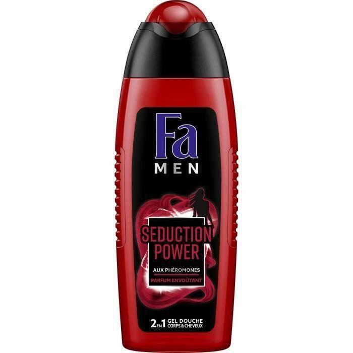 [LOT DE 3] FA Gel Douche Seduction Power - Cheveux et Corps - Homme