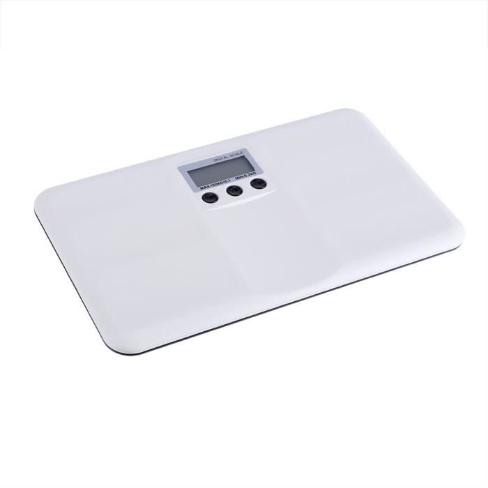 Balance électronique numérique pour animaux de compagnie avec alarme de fonctionnement/verrouillage LCD