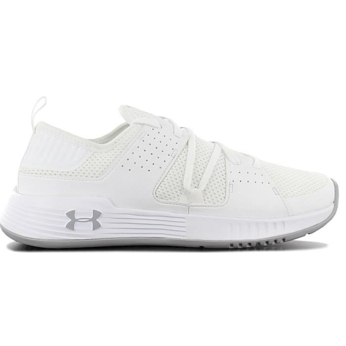 Under Armour Showstopper 2.0 3020542-102 Homme Chaussures Baskets Blanc