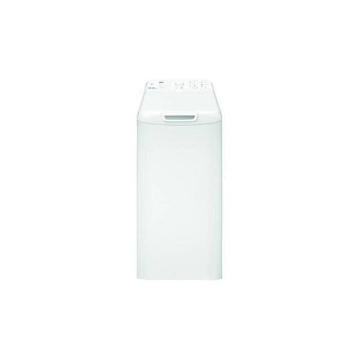 VEDETTE Lave linge top VEB6511 Bla A+++ Grade BBlanc - Blanc