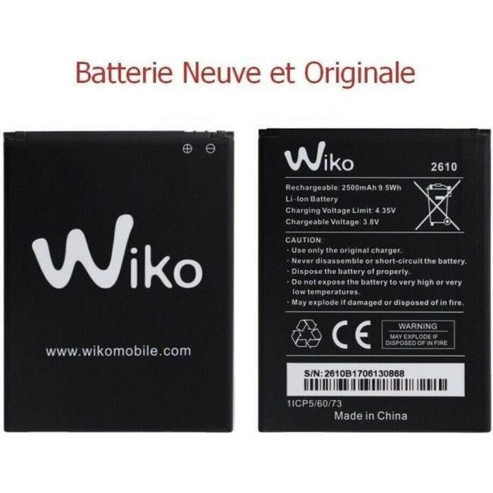 Batterie Wiko Tommy 3