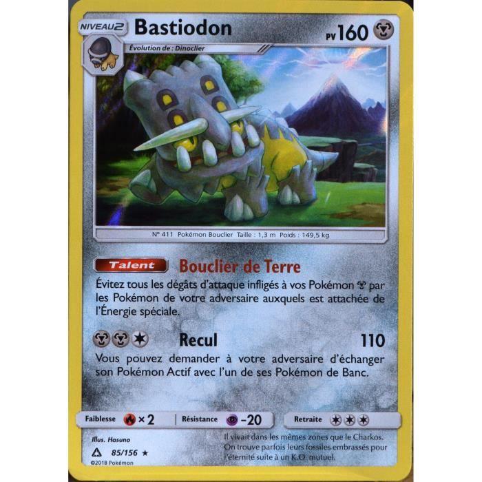 carte Pok/émon 85//156 Bastiodon