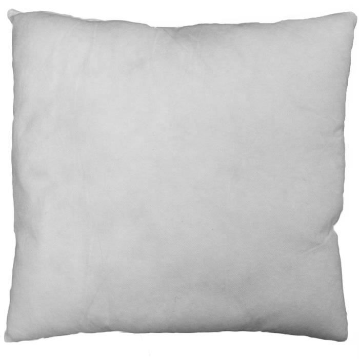 coussin garniture blanc 40x40 achat vente housse de coussin cdiscount. Black Bedroom Furniture Sets. Home Design Ideas