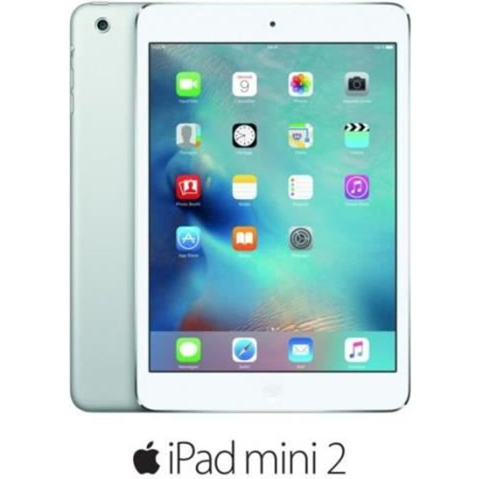 tablette tactile apple ipad mini 2 32go argent prix pas. Black Bedroom Furniture Sets. Home Design Ideas