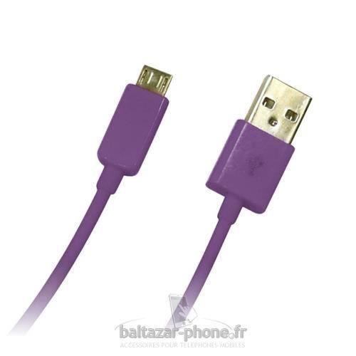 CÂBLE TÉLÉPHONE BALTAZAR PHONE cable USB pour LG Optimus L4 2 E445