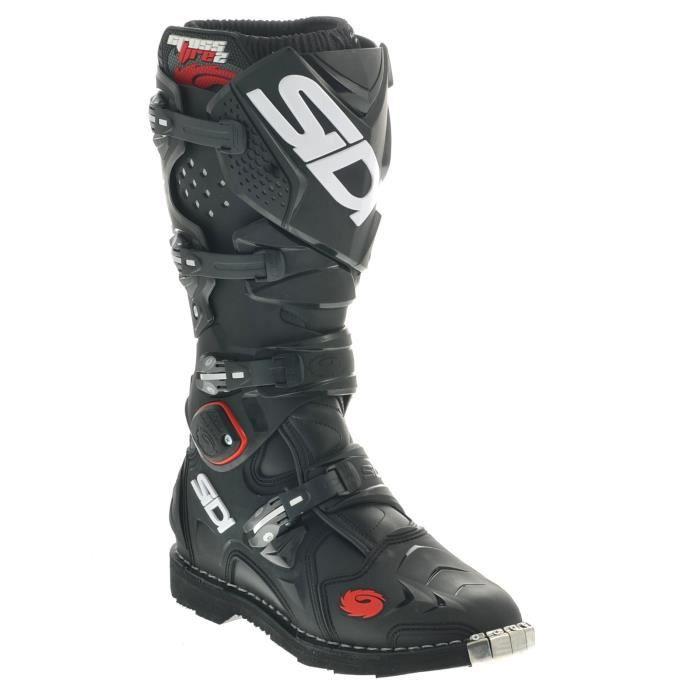 CHAUSSURE - BOTTE Bottes Motocross Sidi Crossfire 2 Noir