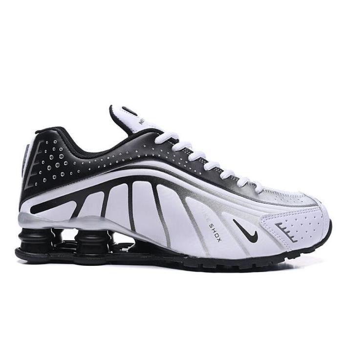 low priced cute cheap big discount Nike Shox R4 Chaussure pour Homme NOIR BLANC - Achat / Vente ...
