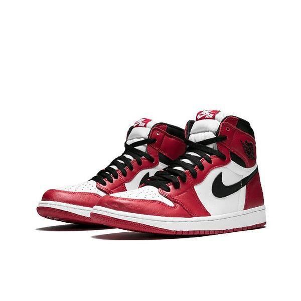 Air Jordan 1 Retro Chicago Chaussures de Basket Air Jordan One ...