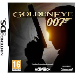 JEU DS - DSI JAMES BOND GOLDEN EYE / Jeu console DS