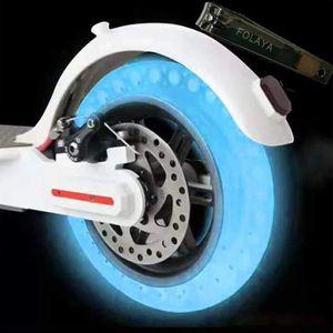 PNEUS AUTO pour XIAOMI MIJIA M365 Pneu Blue Fluorescent,pour