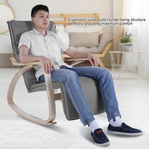 CHAISE DE BUREAU Chaise de détente confortable relaxant en Bois fau