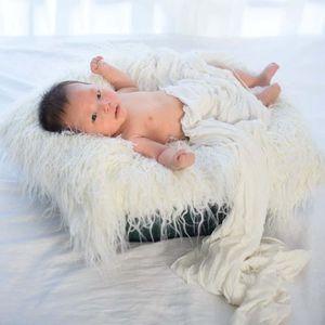 COUVERTURE - PLAID BÉBÉ Couverture de bébé Couverture pour photo 100 jours