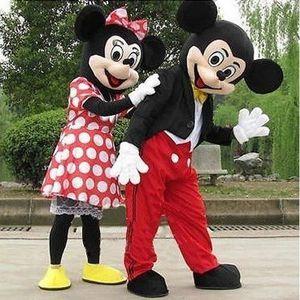 DÉGUISEMENT - PANOPLIE Couple mascotte déguisement Mickey Minnie