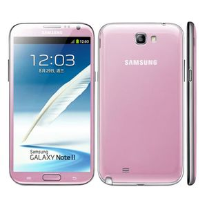 SMARTPHONE Rose Samsung Galaxy Note 2 N7100 16GB occasion déb