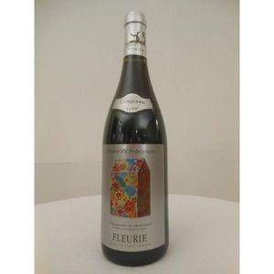 VIN ROUGE fleurie coquard rouge 2008 - beaujolais france
