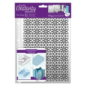 TAMPON DÉCORATIF Tampon clear Creativity Essentials - A5 - Motif Ma