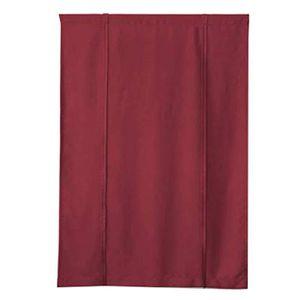 RIDEAU Vin rouge - couleur unie rideau court romain 60 *