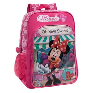 CARTABLE MINNIE - Grand cartable rose Minnie Oh Sew sweet!