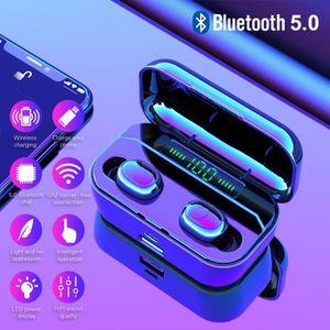 CASQUE - ÉCOUTEURS G6S Bluetooth Écouteurs TWS Sans Fil 5.0 mains lib