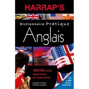 Dictionnaire Anglais Francais Harrap S Achat Vente Pas Cher