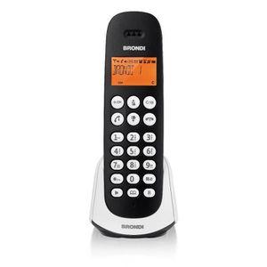 Téléphone fixe Brondi Adara, Téléphone DECT, Combiné sans fil, Ha