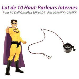 UNITÉ CENTRALE  Lot x10 Haut-Parleurs Dell 390 790 3010 3020 7010
