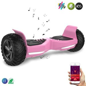 """ACCESSOIRES GYROPODE - HOVERBOARD EverCross Overboard Rose Scooter 2 Roues 8.5"""" Tout"""