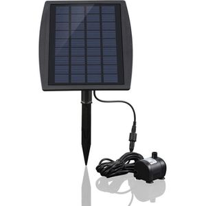 FONTAINE DE JARDIN Énergie solaire pompe à eau panneau brushless  fon