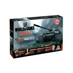 Wot officiel T-Shirt-World of Tanks couleur noire Gamer Tee matériel militaire
