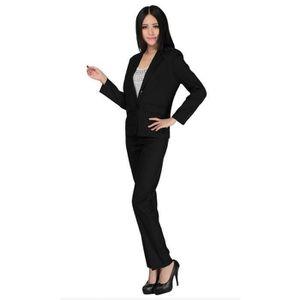COSTUME - TAILLEUR Costume femme Veste et pantalon formel slim fit