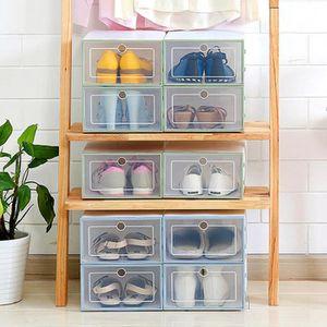 SAC À CHAUSSURES Boîte à chaussures en plastique transparent outil