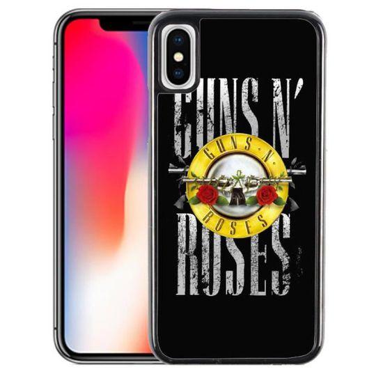 coque iphone x guns n roses
