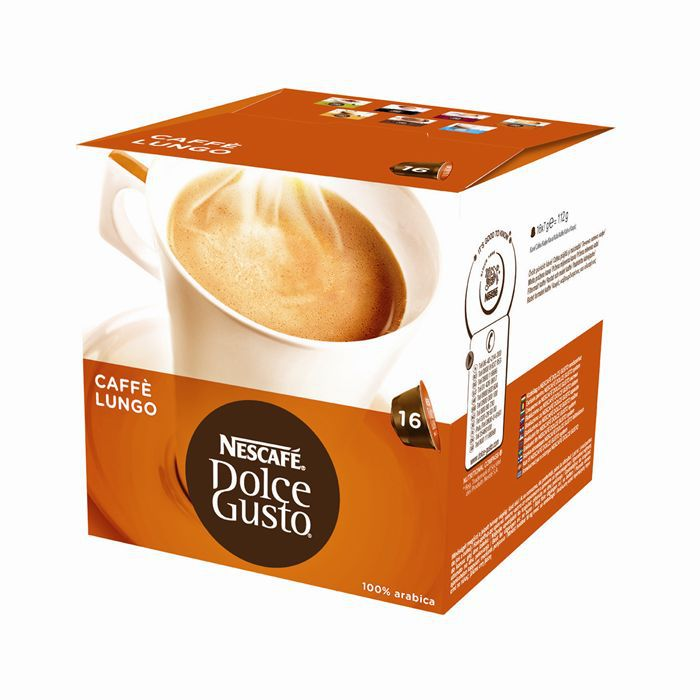 nescaf dolce gusto caf lungo x16 capsules achat vente caf capsule dolce gusto caf lungo. Black Bedroom Furniture Sets. Home Design Ideas