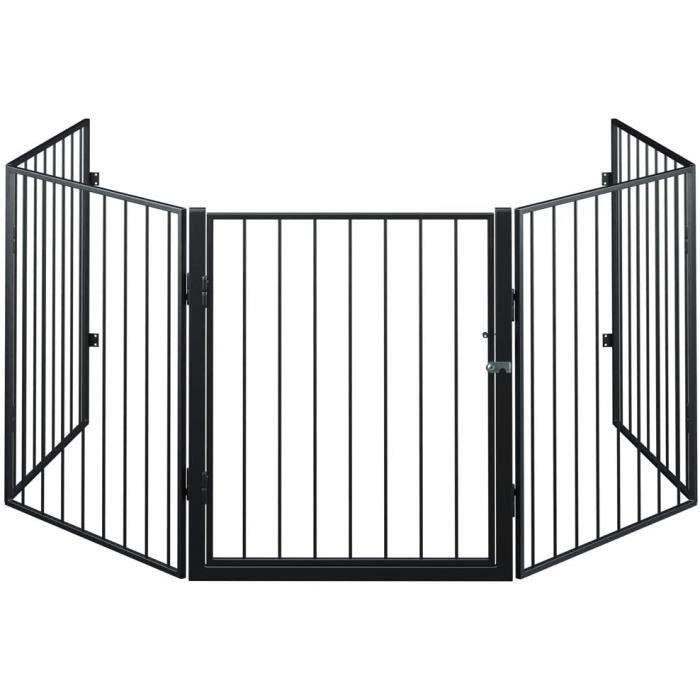Barrire de scurit 310 cm Grille protection pour animaux Chemine escalier[2251]