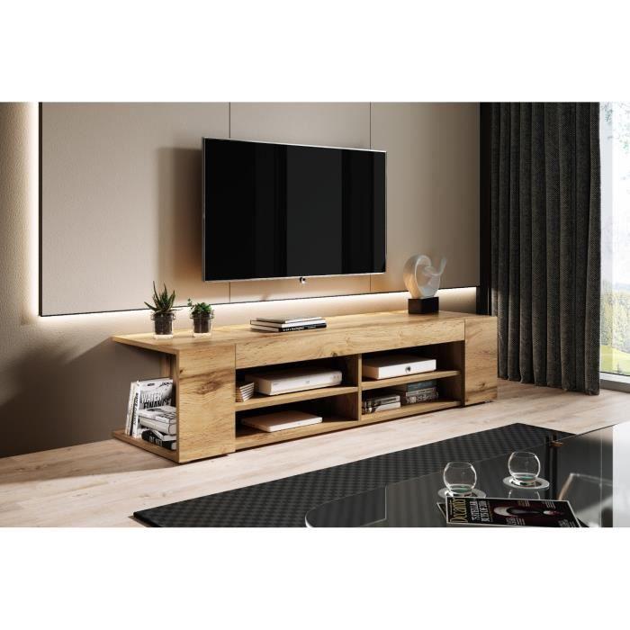 e-Com - Nova Meuble TV - 140 cm - Chene
