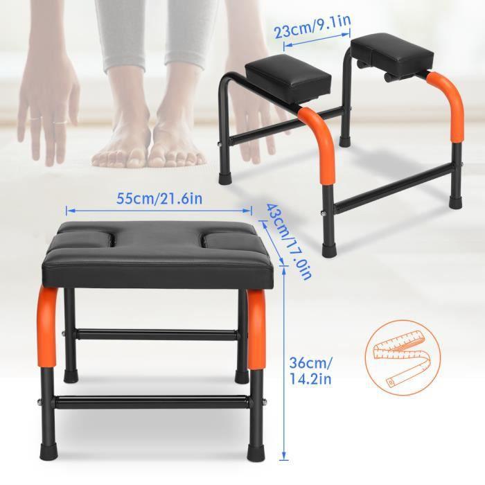 Chaise de yoga Tabouret d'inversion de Yoga chaise d'exercice de yoga chaise de poirier de yoga -CYA