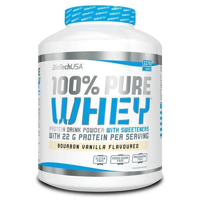 100% Pure Whey - VANILLE - Biotech USA 2270g (2.27 kg)