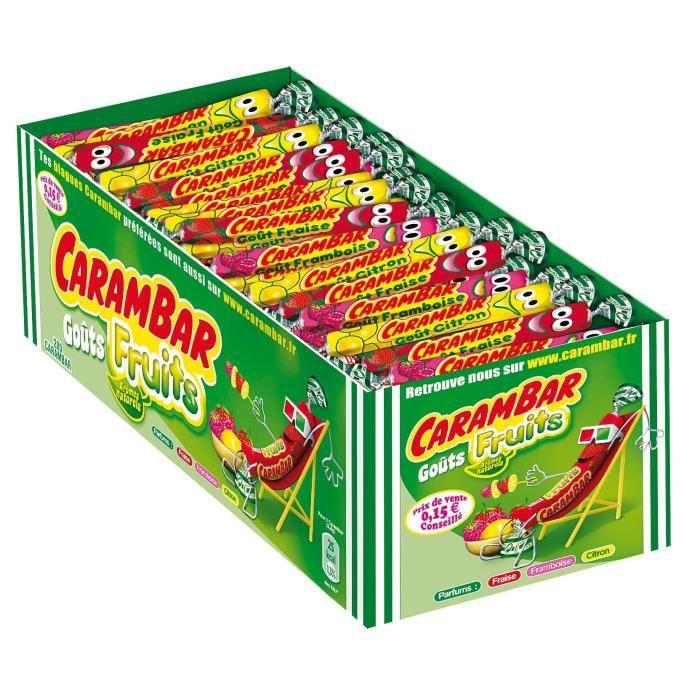 MONDELEZ INTERNATIONAL Carambars Fruits Boite 200