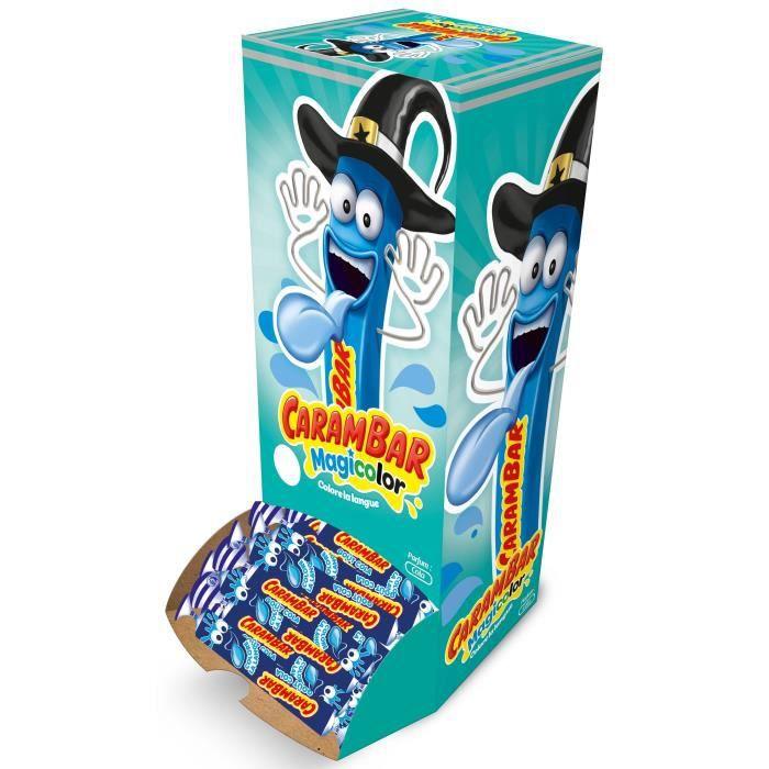 CARAMBAR Bonbons Magicolor - Boîte 180 pièces