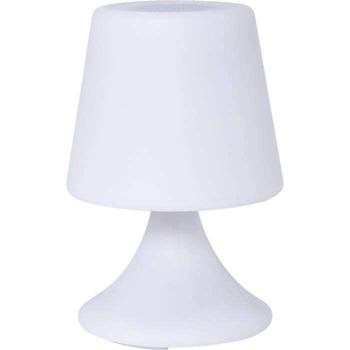 Lampe enceinte connectée outdoor Handy S FOLLOWColorblock blanche