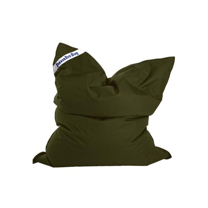 JUMBO BAG - Coussin géant Jumbo Original - Vert olive - 130x170 cm