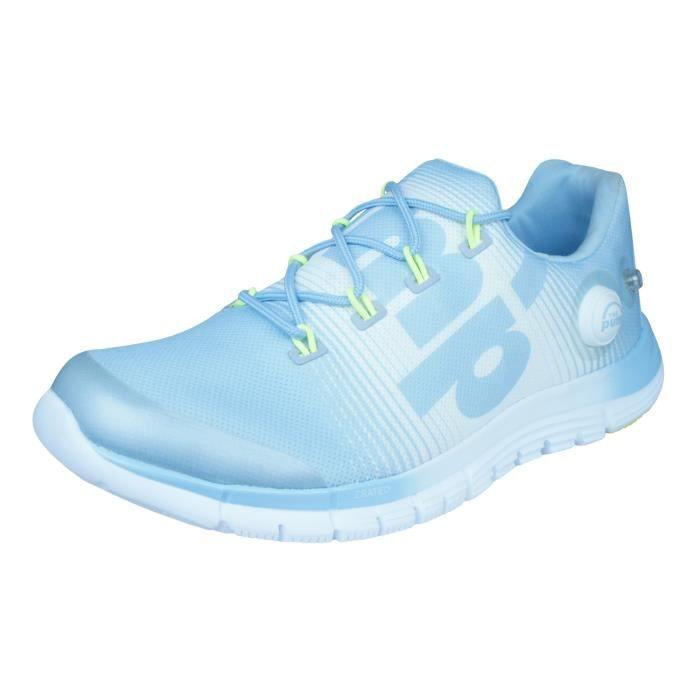Reebok ZPump Fusion Chaussures de course pour femme Bleu 5.5