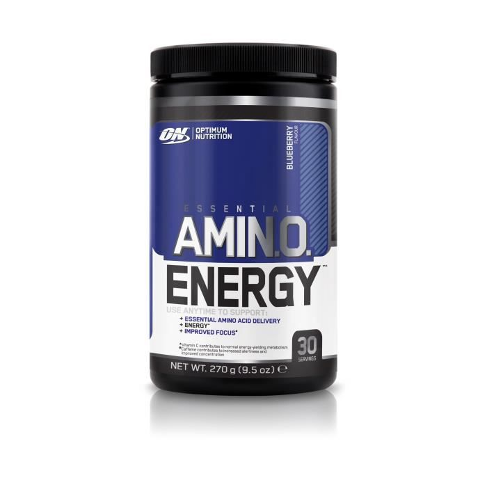 OPTIMUM NUTRITION Pot Amino Energy Myrtille - 270g