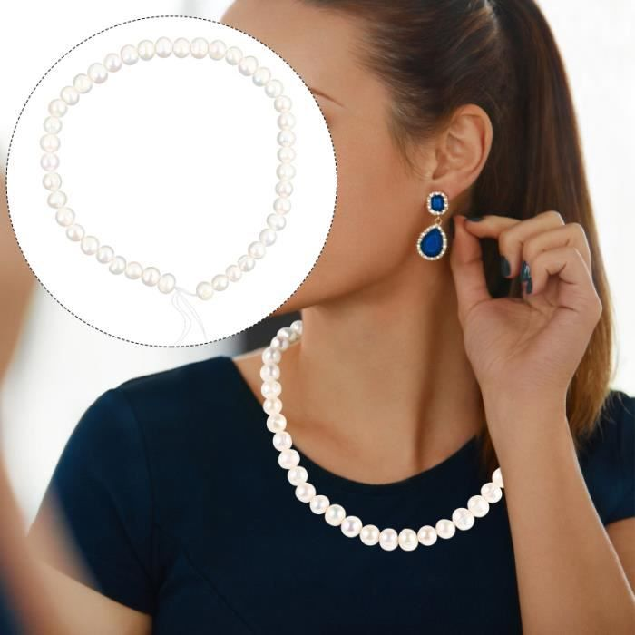 1 pc délicat femmes premium nacre collier perle bijoux maillon de bracelet