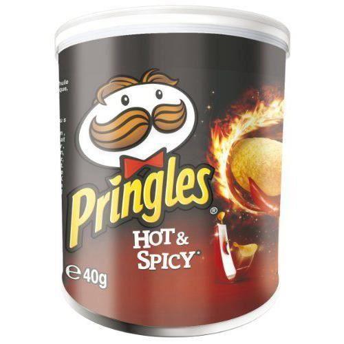 Pringles Tuiles Hot/Spicy Mini 12 x 40 g - 7000250000
