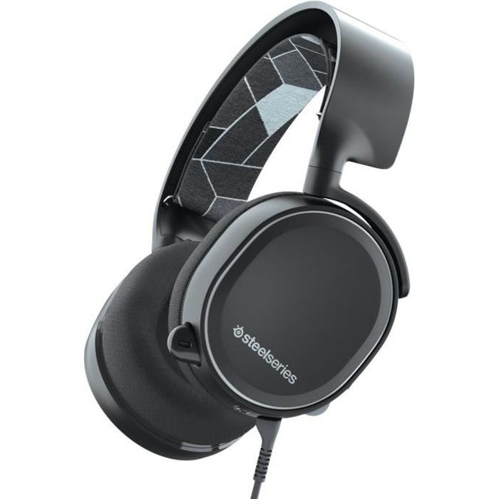 SteelSeries Arctis 3 Console - Casque Gamer pour console - PlayStation 4 / Xbox One / Nintendo Switch - Noir